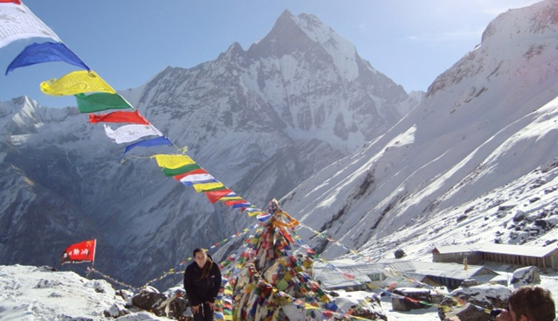 Poon Hill Hot Spring Trek Banner Image
