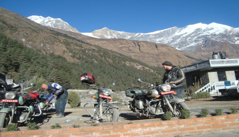 Annapurna Gorge Motorbike Tour