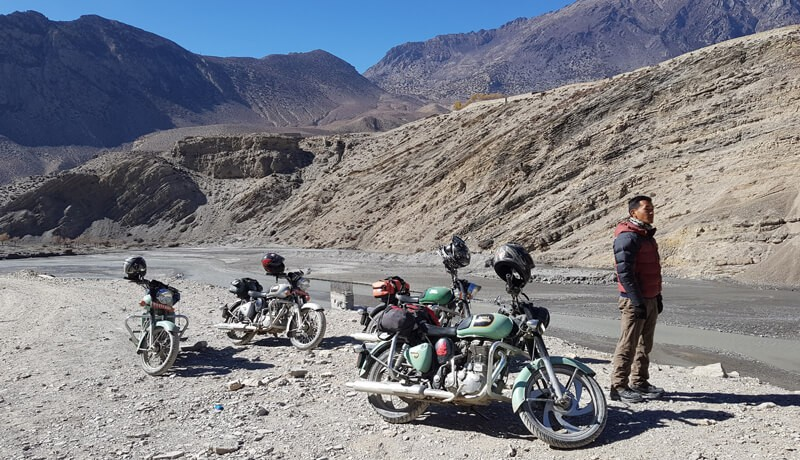 Motorbike Tour to Annapurna Gorge