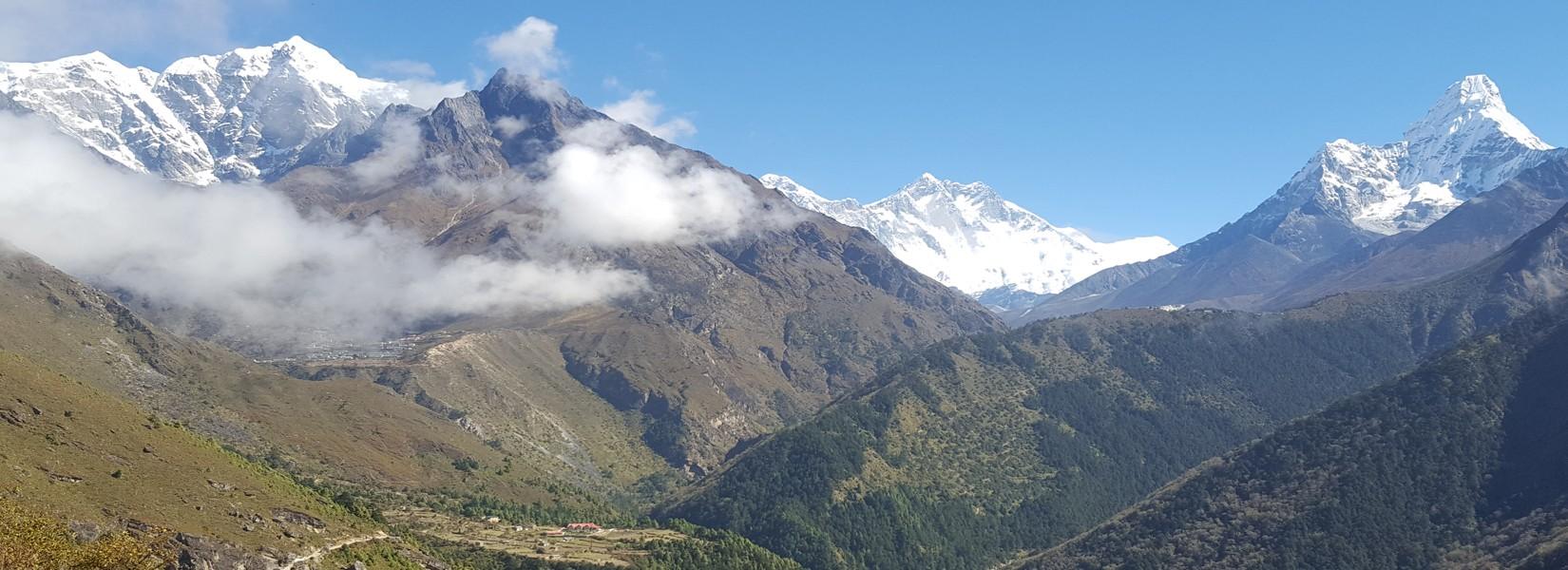 Trekking Season in Nepal Banner Image